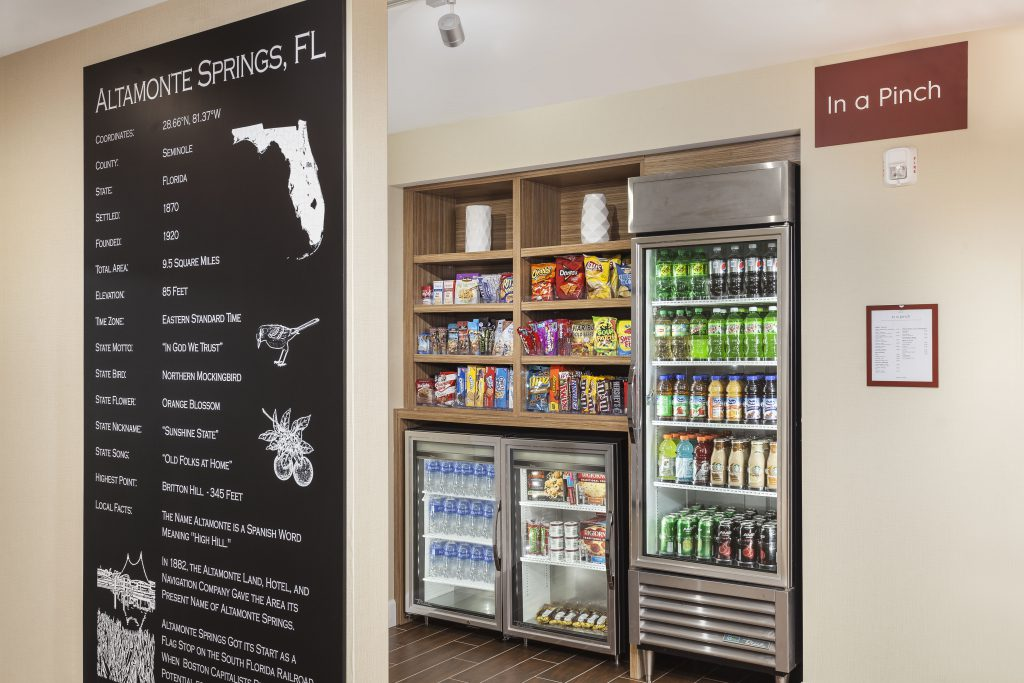 Hospitality - TownePlace Suites-Altamonte Springs In A Pinch snack station