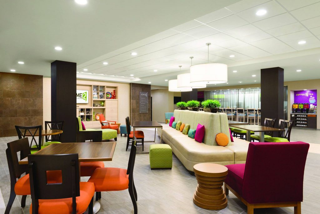 Hospitality - Home2Suites Knoxville West Lobby