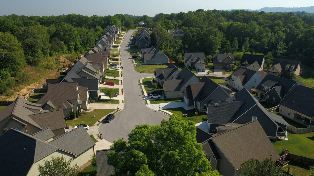 Magnolia Creek residential neighborhood