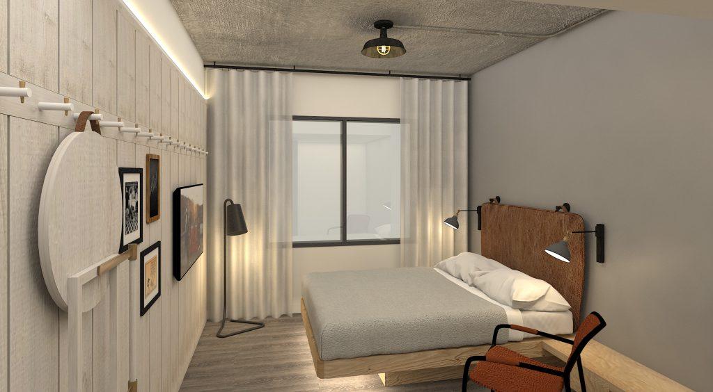 Hospitality - Moxy Chattanooga Standard Room