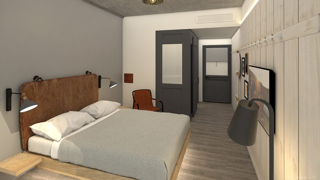 Hospitality- Moxy Chattanooga Standard Room