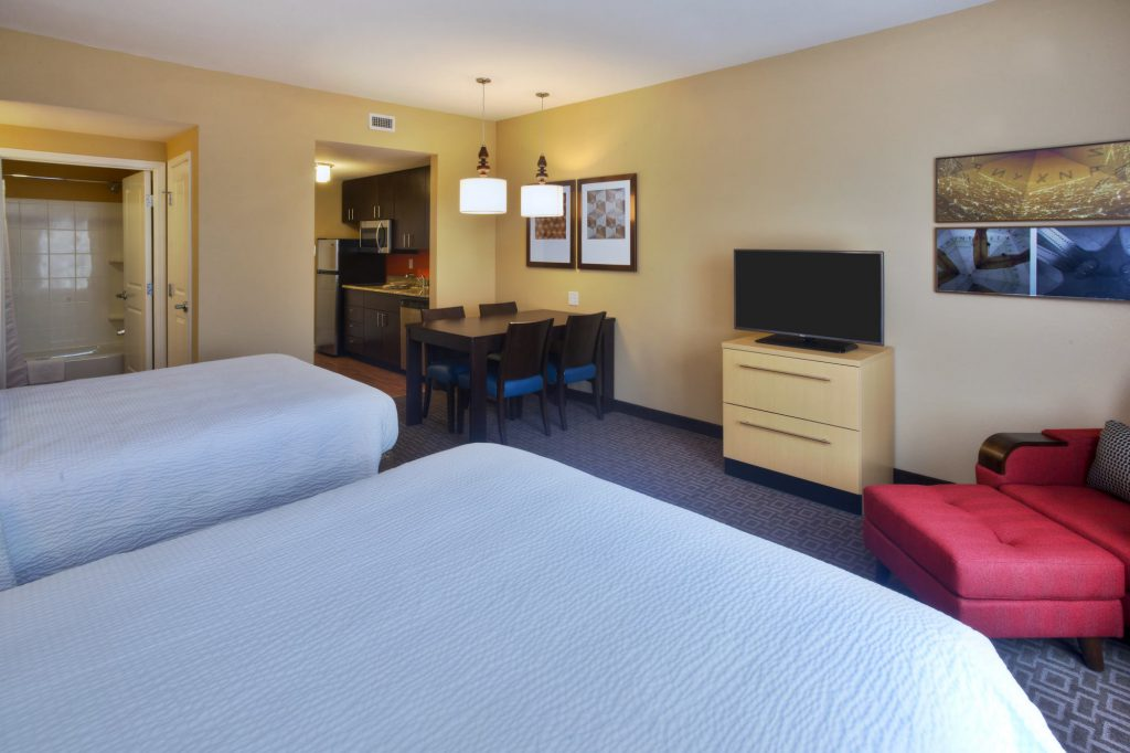 Hospitality - TownePlace Suites Franklin Cool Springs Double Bed Suite
