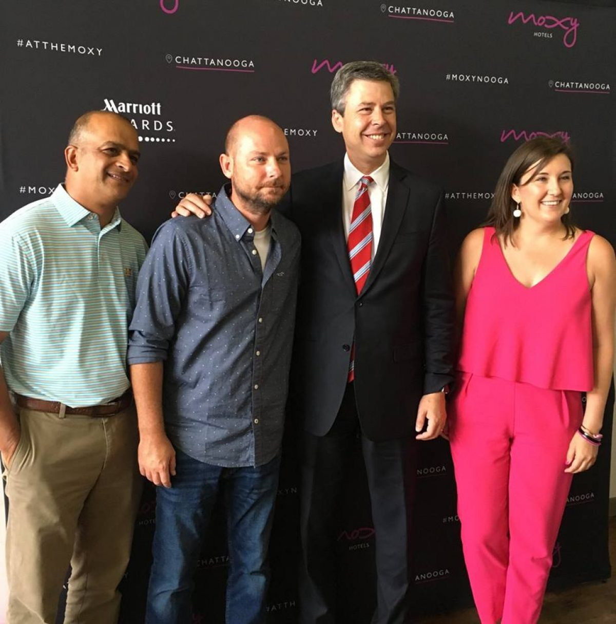 Mayor Andy Berke at Moxy Chattanooga