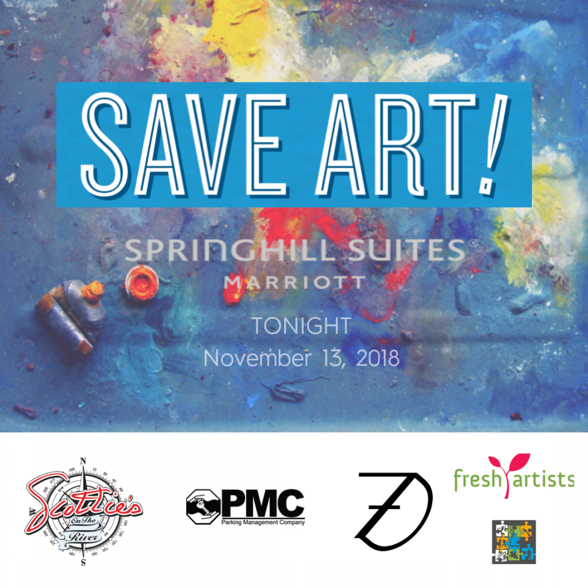 SaveArt! Event Logo