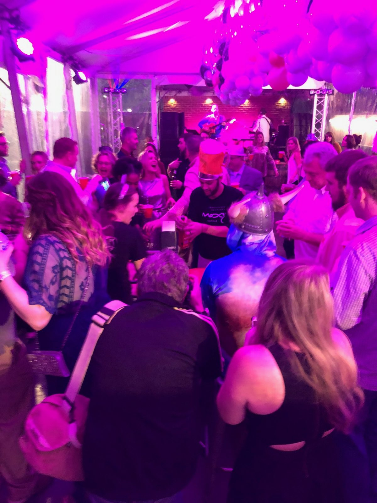 Moxy Chattanooga Downtown Hosts NYE Party - 3H Group
