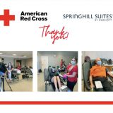 SpringHill Suites Chattanooga Hosts American Red Cross Blood Drive